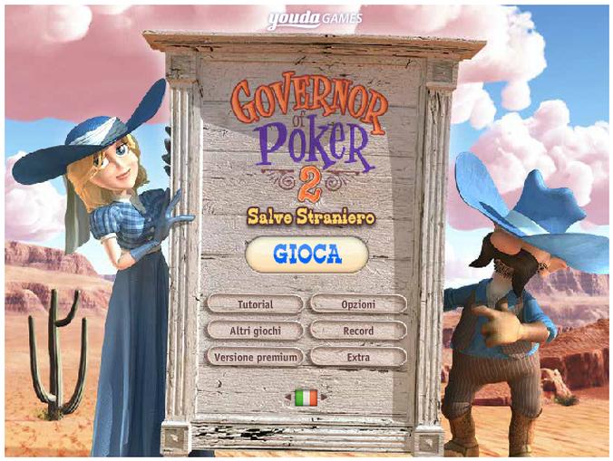 Giochi gratis online poker governor